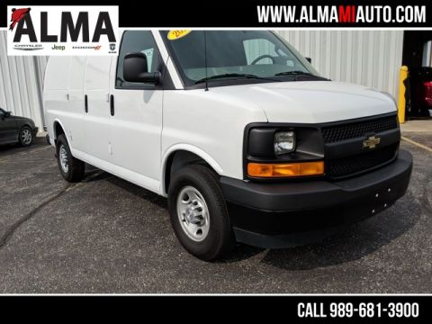 Pre-Owned 2017 Chevrolet Express 2500 Work Van